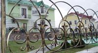 Металлические ограждения, кованые ограждения, все ограждения в Москве фото 05