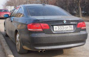 Тройки Игоря Лугового BMW 325 Екат