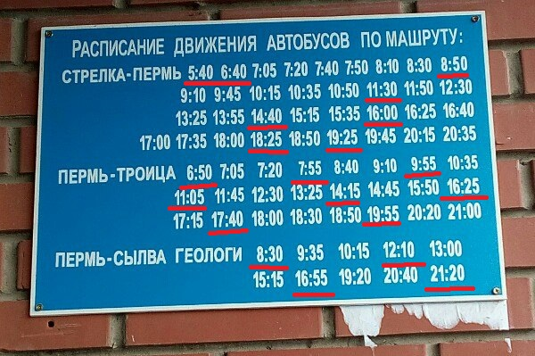 расписание автобусов Пермь Сылва