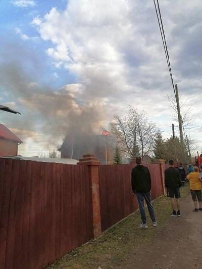 Пожар в Ерепетах